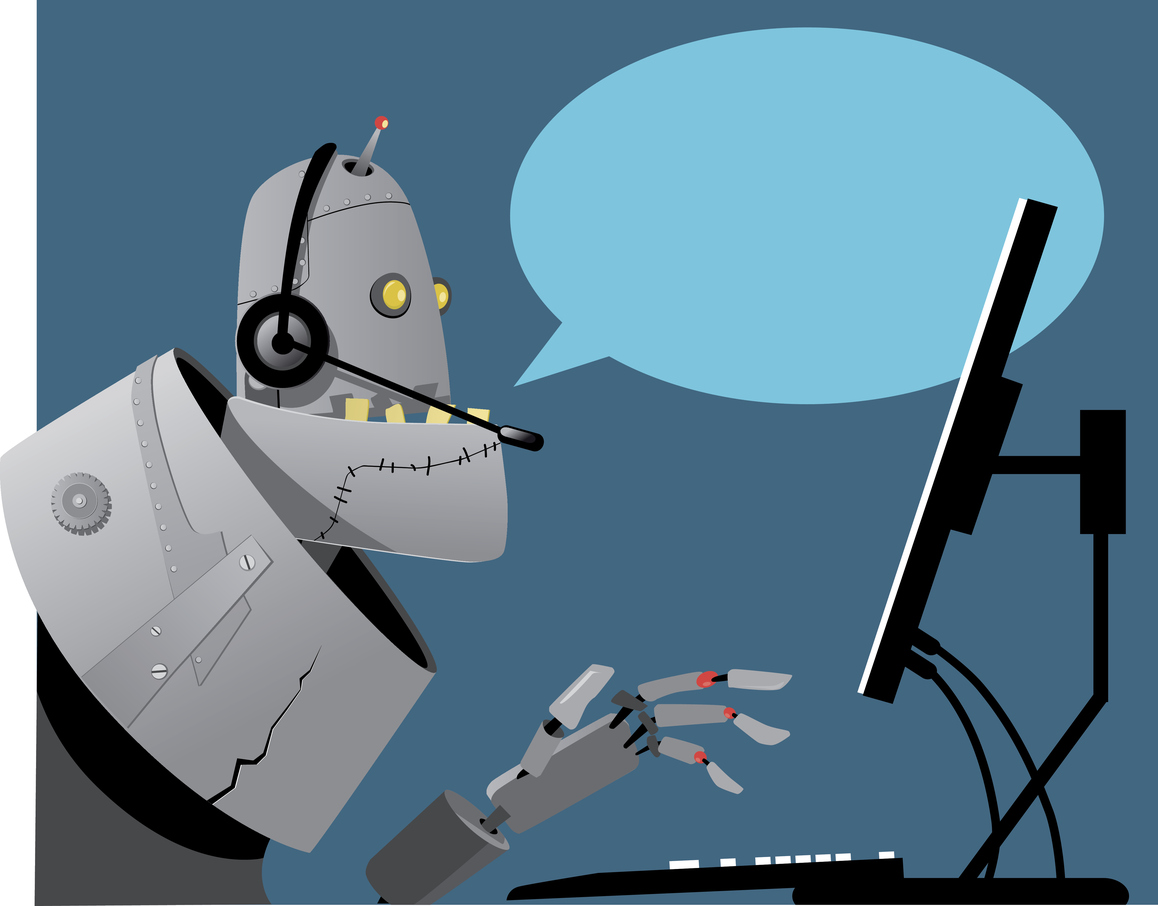 Robot workforce humor