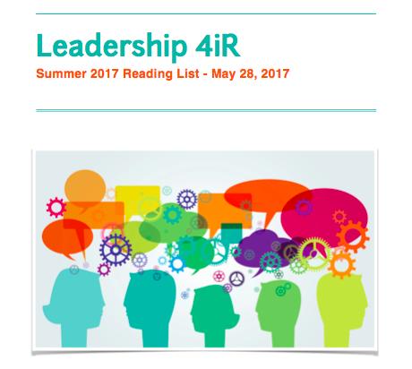 Leadership4iR Summer Reading List